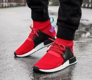 best loved 37146 a9291 Details about ADIDAS NMD_XR1 WINTER BZ0632 Men's SHOES SIZE 12 US Red/multi
