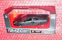 Rmz City Collection 25 Lamborghini Murcielago Lp 670-4 Sv Matte Series Black