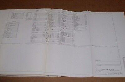 1985 Ford Econoline Van E150 E250 Wiring Diagram Schematic Sheet Service Manual Ebay