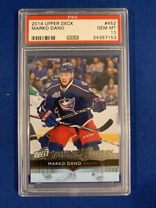 MARKO-DANO-PSA-10-2014-15-UPPER-DECK-YOUNG-GUNS-ROOKIE-CARD-452