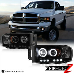 Image Is Loading Limited Sinister Black 2002 2005 Dodge Ram 1500