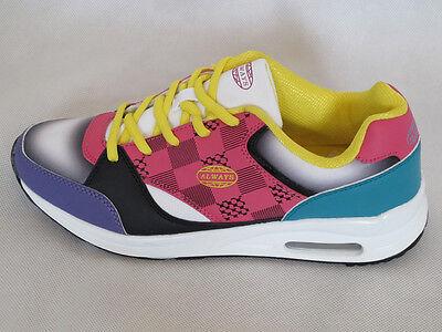 Sneaker Sportschuh Freizeitschuh Black-Rose Größen 37 - 39 *SALE*