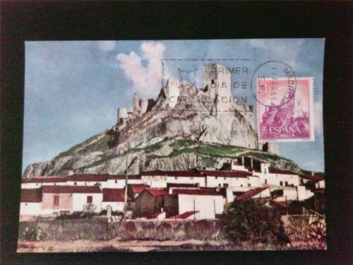 SPAIN MK 1966 CASTILLO BURG CASTLE MAXIMUMKARTE CARTE MAXIMUM CARD MC CM c5424