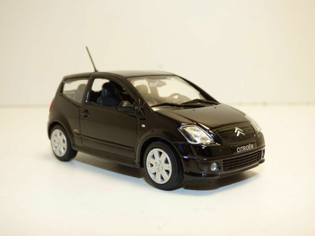 Citroën c2 vts - videos schwarz 1   43