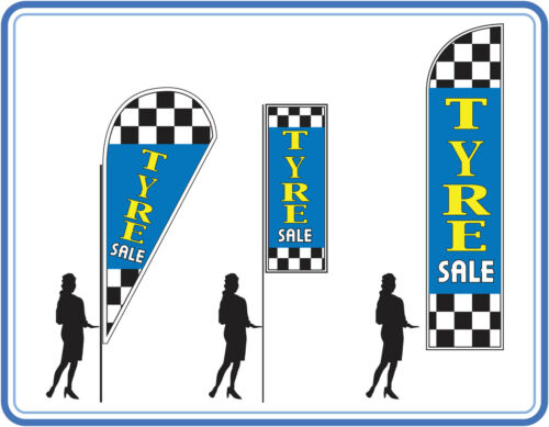 Tyre sale, great for garages Car tyres for sale banners UK 1