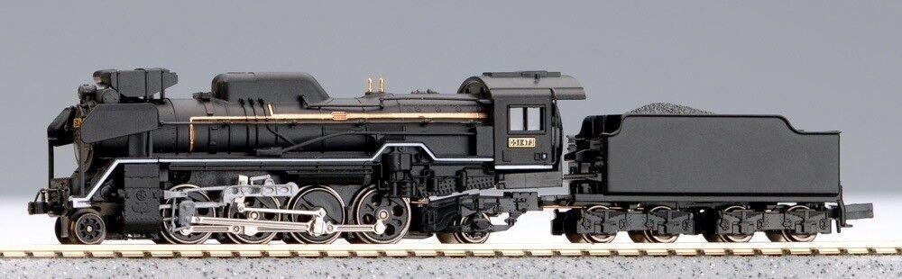 Microace a9521 Jnr Locomotora de vapor D51, escala N, naves de los EE. UU.