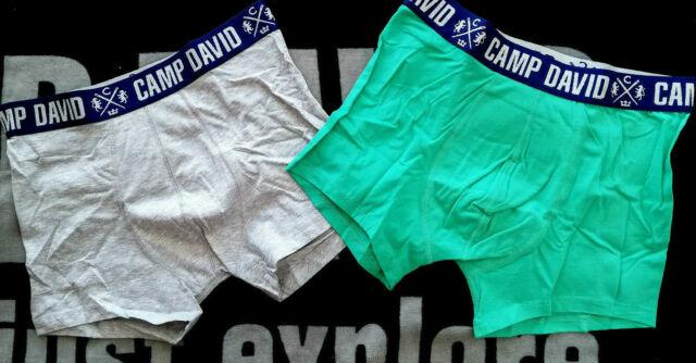 Neu 2 oder 4 Stück Camp David Boxershorts pink//schwarz M L XL XXL 2XL XXXL 3XL