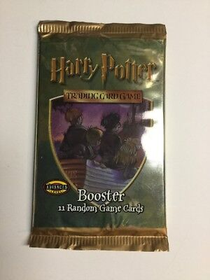 HARRY POTTER CCG BASE SET SEALED BOOSTER PACK OF 11 CARDS