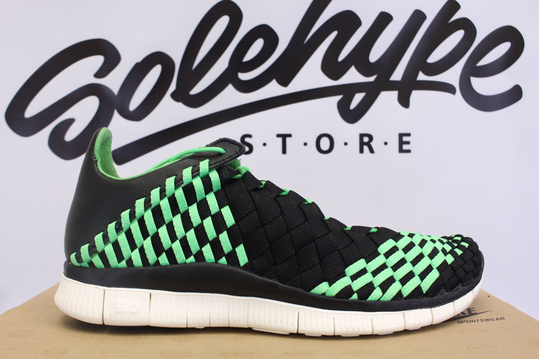 Nike Nike Nike FREE INNEVA Tejido Veneno Verde Negro ASPA 579916 030 a42364