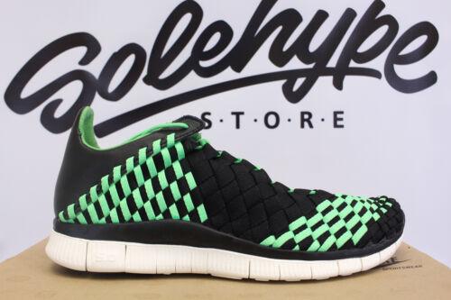 030 Poison 579916 Sz 5 Green Inneva Nike 11 Free Woven Vela Black q481wtw