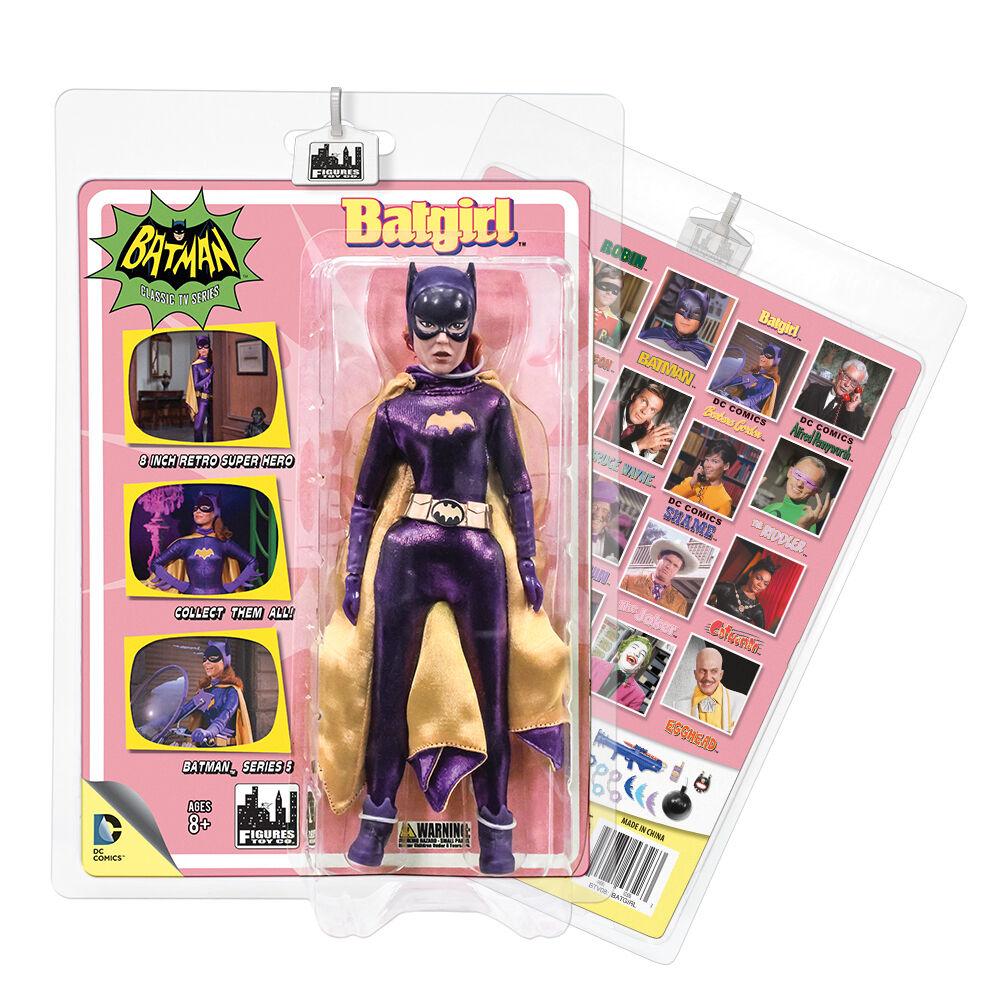 Batman 66 Classic TV Show Retro Style 8 Inch Figures Series 5  Batgirl