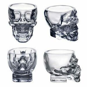 Shot-Glass-Cup-Crystal-Skull-Head-For-Home-Bar-Party-Whiskey-Wine-Vodka-Drinking