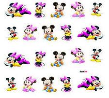 Nail Art de transferencia de agua Pegatina Calcomanías Pegatinas Mickey & Minnie Mouse (DS056)