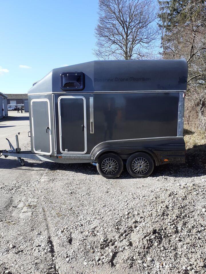 Hestetrailer, Brenderup EXCELENT 2500, lastevne (kg):