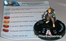 SAMWISE GAMGEE #012 Lord of the Rings: The Return of the King LotR HeroClix Rare