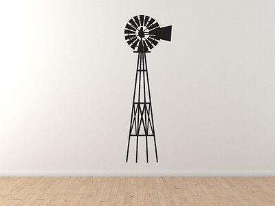 Farm #5 Car Tablet Vinyl Decal Farm Antique Old Style Windmill
