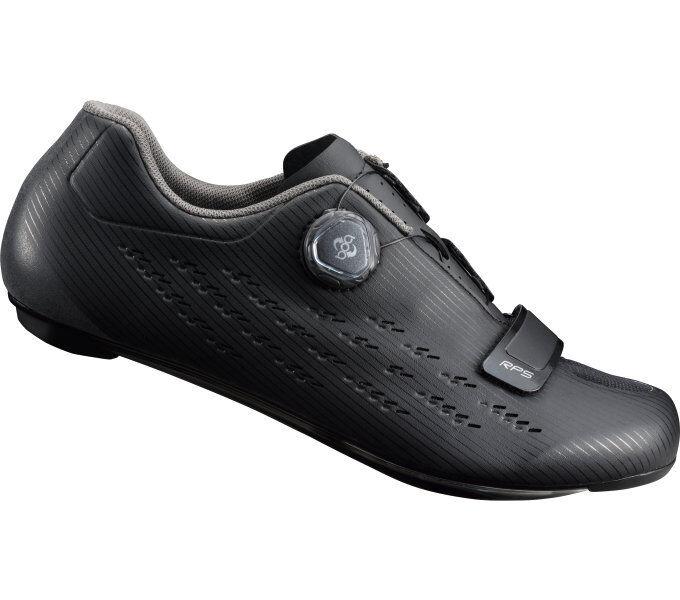 Shimano SH-RP5 Rennradschuh schwarz mit Carbonsohle + Drahtschnürung, Gr 40 - 50    Erschwinglich