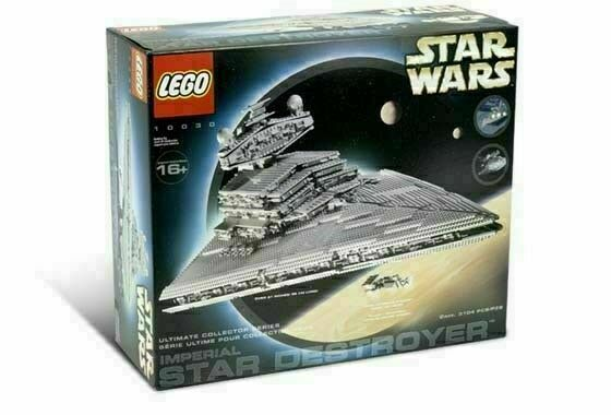 10030 Imperial Star Destroyer Star Wars UCS Buidling Blocks Bricks 3096Pcs 05027