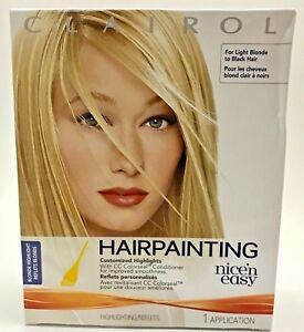 Image Is Loading Clairol Nice N Easy Hairpainting Customized Highlights Blonde