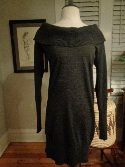 DIANE VON FURSTENBERG Aizura 100% merino wool knit dress women's women's women's size M c0dc52