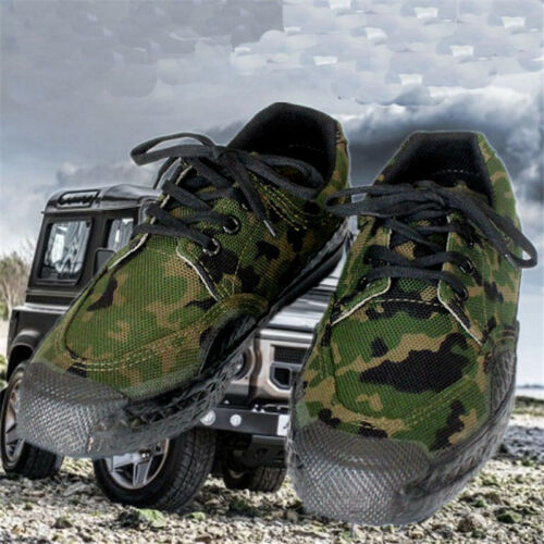 Men/'s  Shoes Canvas Shoes Military  Camo Lace up Training Casual Breathable Ch8