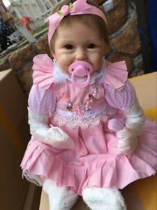 "NPK 22/"" Reborn Dolls Girl Realistic Lifelike Newborn Baby Doll US"