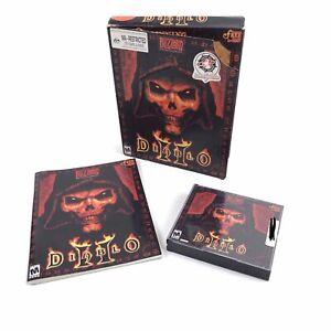 Diablo-2-II-Big-Box-PC-Game-4-Discs-Blizzard-Entertainment-With-Key