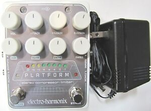 Used-Electro-Harmonix-EHX-Platform-Stereo-Compressor-Limiter-Guitar-Effect-Pedal
