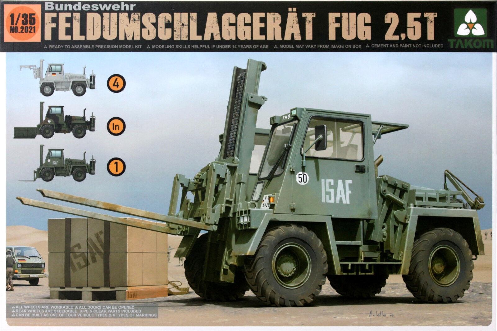 Takom 1 35 German Bundeswehr Feldumschlaggerat FUG 2.5T