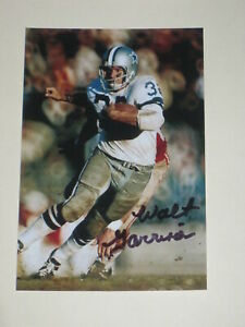 a7fae0159b2 Dallas Cowboys WALT GARRISON Signed 4x6 Photo NFL AUTOGRAPH 1D | eBay
