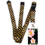 Beautiful-FLOWERS-Standard-size-ID-badge-holder-and-lanyard-neck-strap-gift thumbnail 28