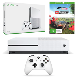 Xbox-One-S-1TB-Console-Forza-Horizon-4-amp-LEGO-Speed-Champions-DLC-Bundle-NEW