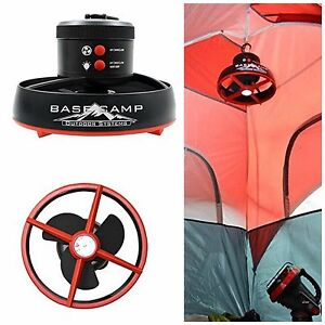 Tent Ceiling Fan Outdoor Led Lantern Camping Equipment Hiking Accessories Black