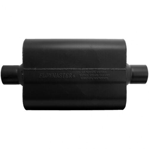 "13/"" Long Flowmaster Super 44 Series Muffler 2.5/"" Center Inlet Center Outlet"