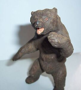 Standing-Lineol-Solid-Bear-Beautiful-Condition-Animal-Wild-West