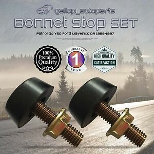 Bonnet Stop Adjuster for Nissan Patrol GQ Y60 Ford Maverick Bumper Stopper 88-97