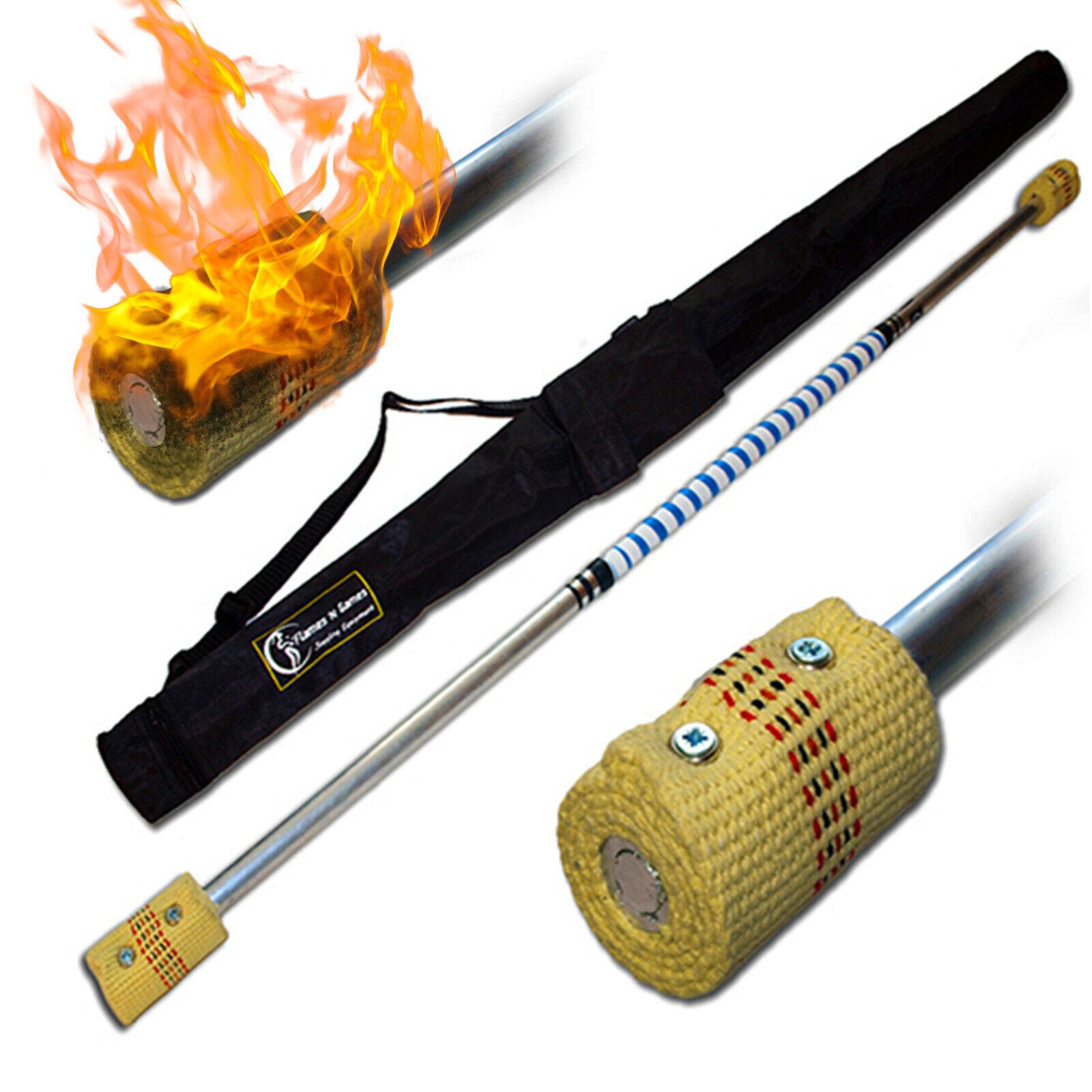 Flammor'N Spel KONTACT Brandstav 1.2m FRI påse (2x 65mm)