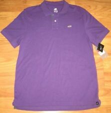 NIKE PIQUE SHOE POLO SHIRT air collection purple NWT S SMALL SM MAX GOLF