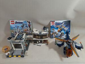 2x LEGO sets Avengers Endgame.76144 Hulk Helicopter Attack ...