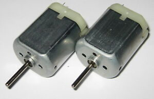 2-X-Mabuchi-FK-280-Motor-10-to-15-VDC-Model-Train-Motors-8000-RPM
