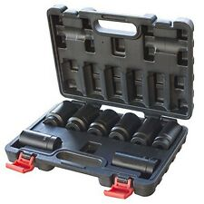 Black Bull 1/2 in. Drive 12 Point Spindle Deep Impact Socket Set - 8 Pc. NEW