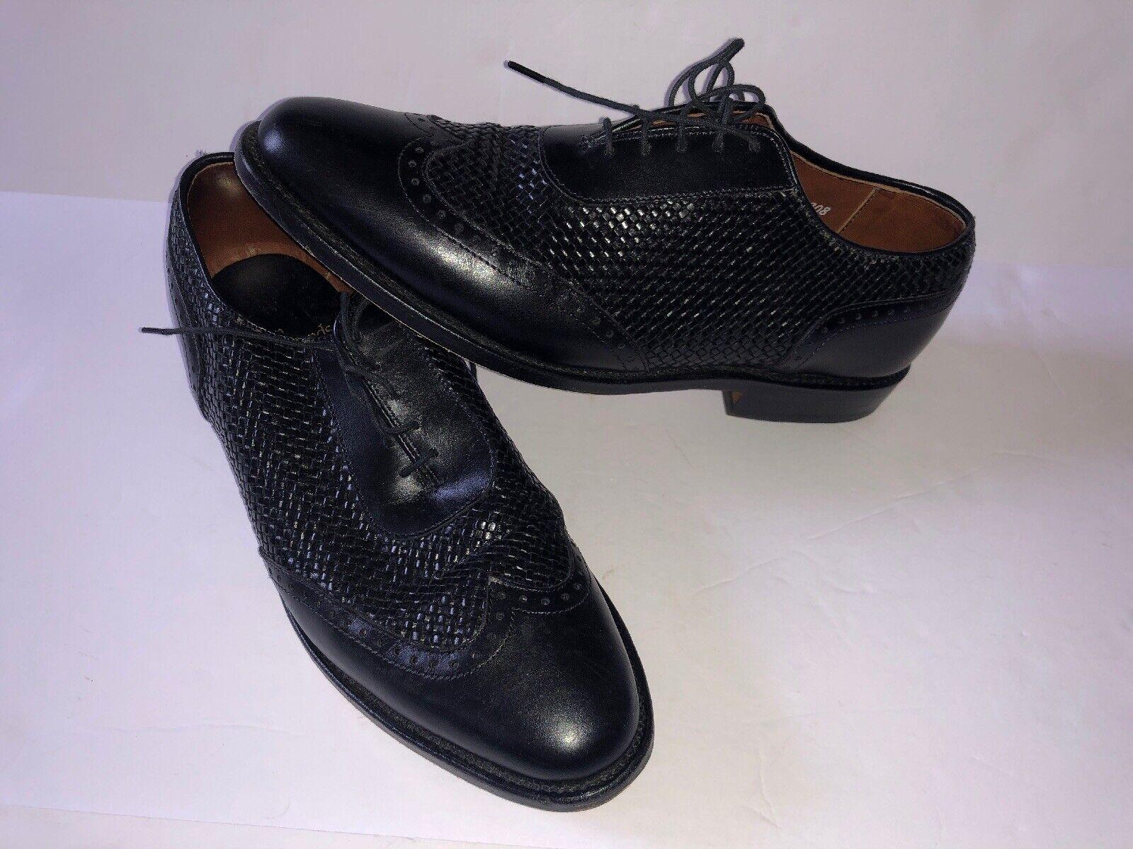 Allen Edmonds Hampstead Para Hombre Zapato Oxford Negro Tamaño 8 D - 1908