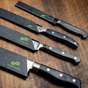 everpride chef knife guard set 4 piece set universal blade edge