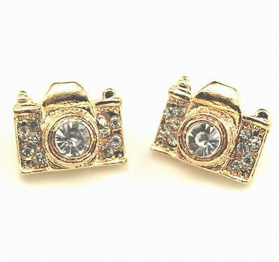 fashion lovely  camera Stud earrings Christmas gift EA238
