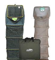 Duo Carp Mono Mesh 20x16 10ft & Syndicate Soft Micro Mesh 8ft Keepnets & Bag