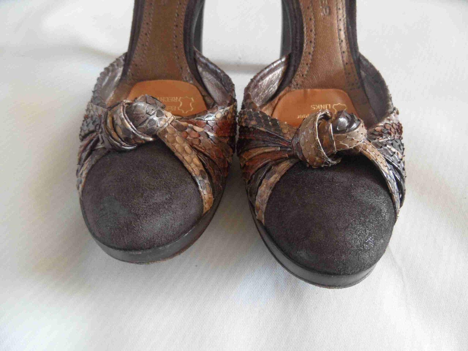 THE mit SELLER chice High Heels mit THE Fesselriemen Gr. 36  TOP AO3 d033f9