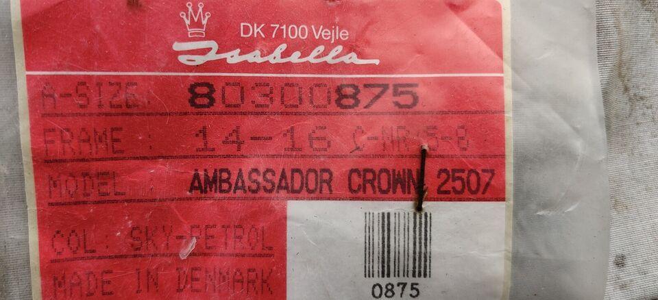 Fortelt, Amabassador Crown 2507, a-mål: 875