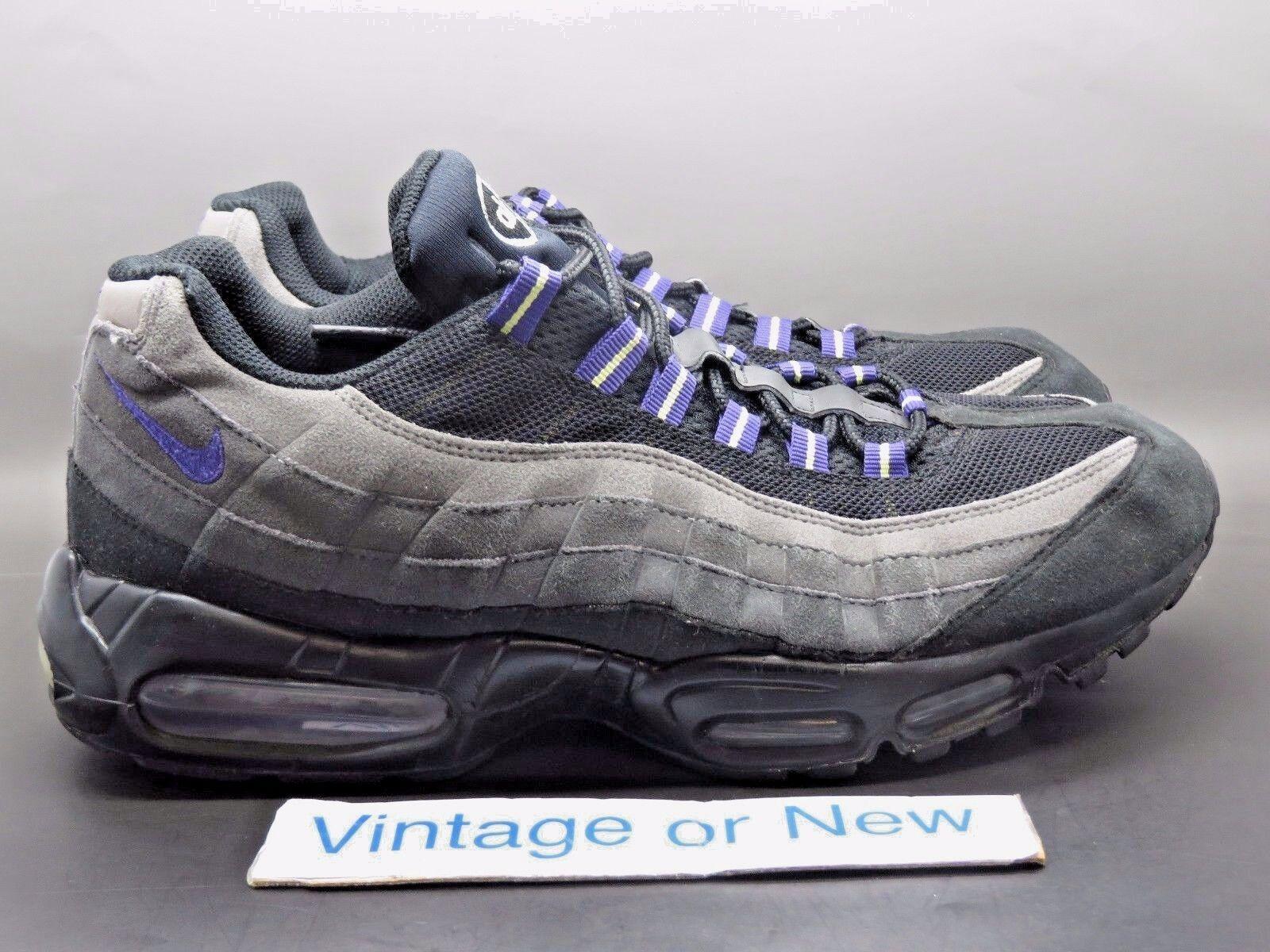 Nike air max 95 uomini ombra medio grey viola 2011 sz