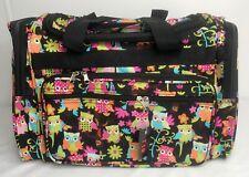Travel Owl Print Sports Bag