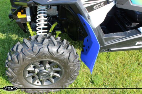 Fender Flares FRONT SET BLUE 2 2014-2017 Polaris RZR XP 1000 RZR Mud Flaps